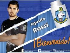 Agustín Rossi jugará cedido en Antofagasta. Twitter/CDAntofagasta