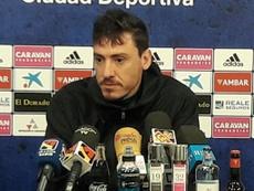 Cristian asegura que un triunfo ante el Dépor daría mucha tranquilidad la vestuario. Zaragoza