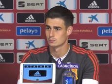 Il portiere delle Furie Rosse, Kepa Arrizabalaga e' intervenuto in conferenza stampa. SeFutbol