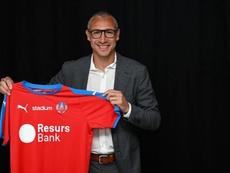 El Helsingborgs anuncia a Henrik Larsson como nuevo entrenador. HelsingborgsIF