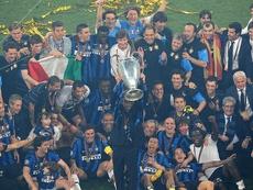 Inter de Milão conquistou a Champions League de 2010 contra o Bayern de Munique. AFP