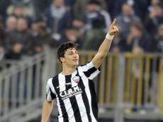 Riccardo Orsolini podría ser una de las futuras estrellas de la 'Azzurra'. AscoliPicchio