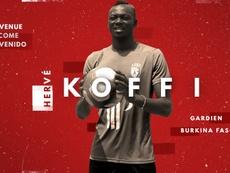Hervé Koffi, nuevo jugador del Lille. LOSC