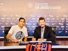 Donatti firmó su contrato con San Lorenzo. SanLorenzo