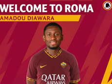 Amadou Diawara ya es nuevo futbolista de la Roma. Twitter/ASRoma