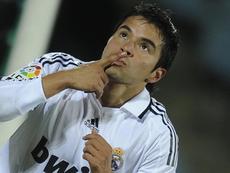 Saviola pasó por el Madrid. AFP