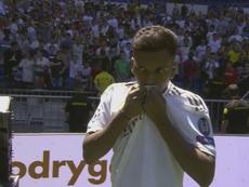 Sigue en directo la presentación de Rodrygo con el Real Madrid. RealMadridTV