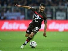 El St. Pauli libera a Cenk Sahin. Twitter/fcstpauli