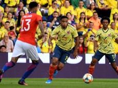 Cuadrado e Muriel compagni in nazionale colombiana. Twitter/FCFSeleccionCol