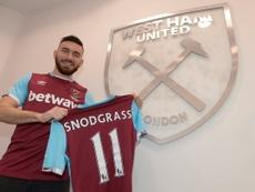 El West Ham lo tiene difícil para repescar a Snodgrass antes de tiempo. WestHamUtd