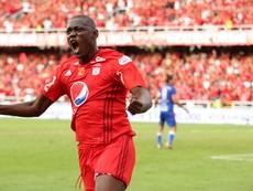 Martínez Borja anotó el único gol del partido. AméricadeCali
