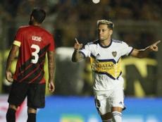 Zárate le dio la victoria a Boca. BocaJuniors