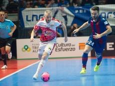 ElPozo venció 2-0 al Levante. Twitter/ElPozoMurcia_FS