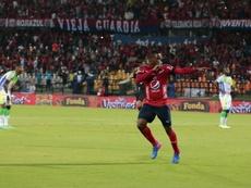 Juan Fernando Caicedo ha vuelto a Independiente Medellín. DIM