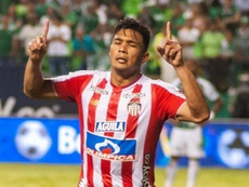 Junior confirmó la fractura de nariz de Teo Gutiérrez. JuniorClubSA