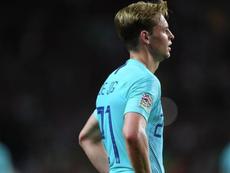 De Jong comparó esta derrota con la del Tottenham. AFP