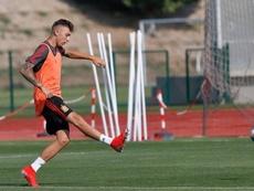 Gelabert ha comenzado a sonar para salir del Madrid. Twitter/CésarGelabert