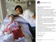 Ponzio no dudó en regalarle su camiseta. Instagram/todosporalann