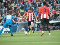 De Marcos destacó el buen partido del Getafe. Twitter/AthleticClub