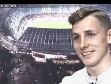Digne habló de Dembélé. Captura/beINSports