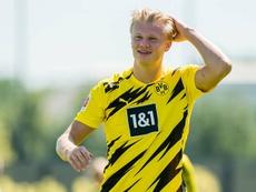 Haaland continua motivado no Dortmund. BVB
