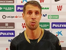 Lejeune is out. Captura/YouTube/DeportivoAlavés
