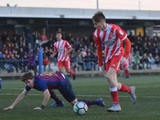 Dubasin podría debutar como internacional. GironaFC