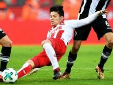 Jorge Meré no tuvo un buen año en Alemania. EFE