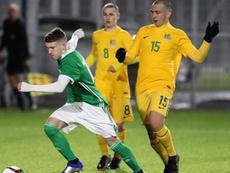 Southampton rejoint la lutte pour Charlie Allen. IrishFA