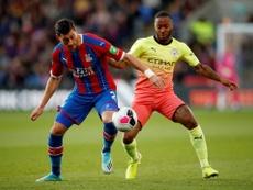 Manchester City veut offrir le plus gros salaire de Premier League à Sterling. Twitter/CrystalPalace