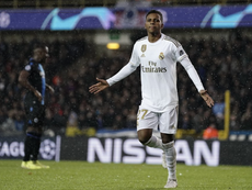 Another chance for Rodrygo. AFP