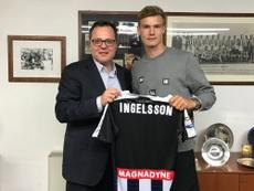 El Udinese llegó a un acuerdo con el jugador sueco Svante Ingelsson hasta 2021. Udinese_1986