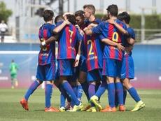 El Juvenil azulgrana venció al Espanyol. FCBMasia