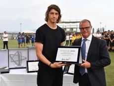 El juvenil que le quiere robar gratis el RB Leipzig a la Juventus. Juventus