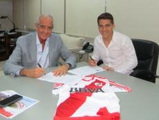 Olivera renovó hasta 2020 con River Plate. CARiverPlate