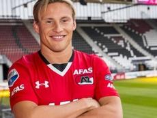 El lateral Jonas Svensson del AZ Alkmaar interesa al Valencia. AZAlkmaar