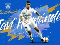 Javi Hernandez signed until 2024. CDLeganes