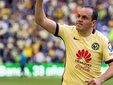 Cuauhtémoc Blanco apostó por Monterrey. AFP