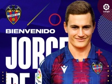 De Frutos llega procedente de la cantera del Real Madrid. LevanteUD