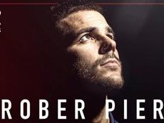 Róber Pier vuelve a Orriols. Twitter/LevanteUD