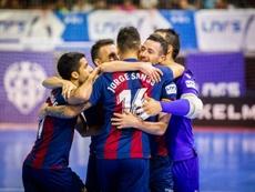 El Levante visita Zaragoza con ganas de dar un salto en la tabla. Twitter/LUDfutbolsala