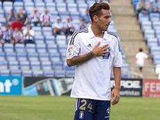 Manu Molina espera relanzar su carrera en el Lleida. Twitter/Lleida_Esportiu