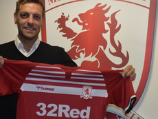 Woodgate, nuevo entrenador del Middlesbrough. Twitter/Boro