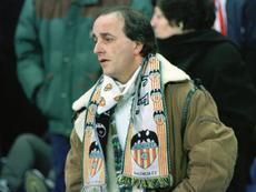 Jorge Iranzo siempre llevaba su bufanda a Mestalla. Twitter/1919Torino