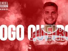 Diogo Queiros prêté à Mouscron. ExcelMouscron