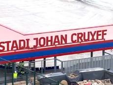 Hay fecha para la inauguración del estadio Johan Cruyff. Captura/FCBarcelona