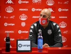 Nafti ya ha hecho historia al frente del Lugo. Twitter/ClubDeportivoLugo
