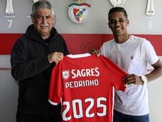 Officiel : Pedrinho signe à Benfica. Twitter/SLBenfica