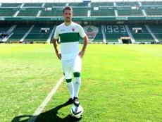 Manuel Sánchez elogió la temporada de su equipo. ElcheCFOficial