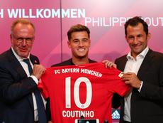 Coutinho va por todas en el Bayern. FCBayern